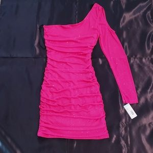 NWT One Sleeve Dress.